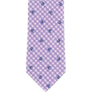 Link to Club Room Mens Fish Self-Tied Necktie - One Size Similar Items in Ties