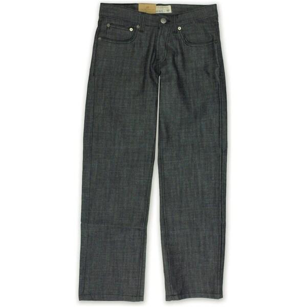 Ecko Unltd. Mens Core Relaxed Raw Coastal Straight Leg Jeans. Opens flyout.