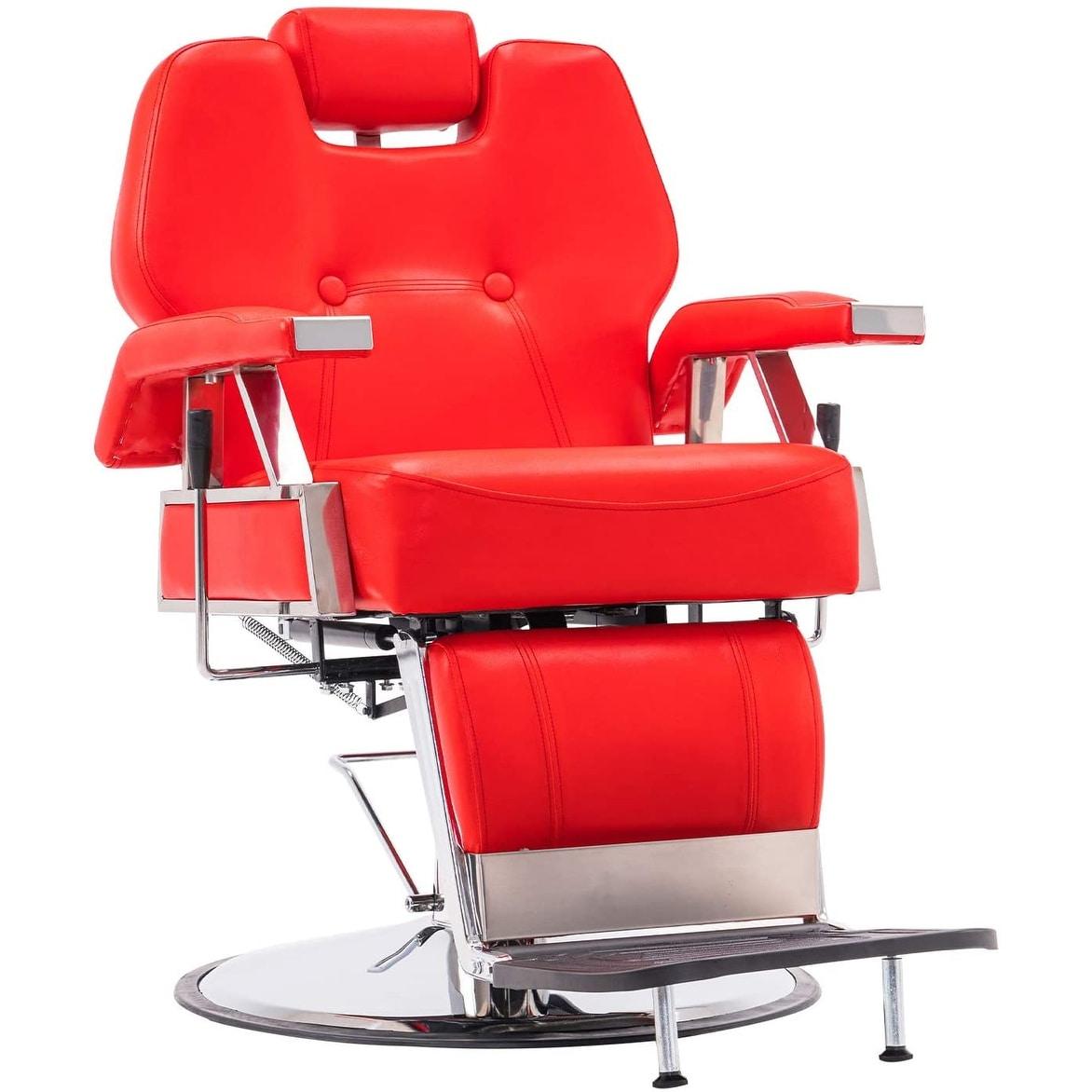 Thumbnail 9, BarberPub All Purpose Hydraulic Recline Barber Chair. Changes active main hero.