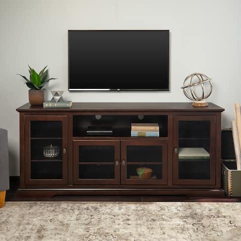 Beaverhead 70-inch Espresso Highboy TV Stand Console