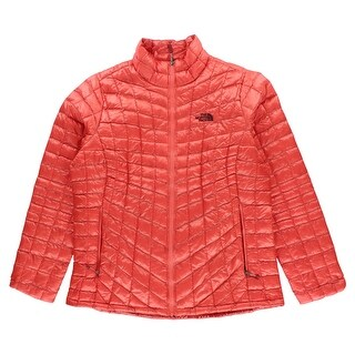 The North Face Womens ThermoBall Full Zip Jacket Orange - XS