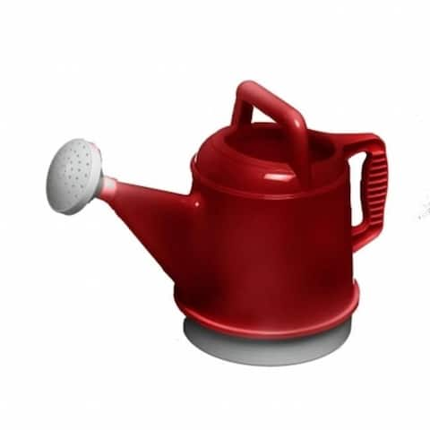 Bloem 2.5 Gallon Deluxe Watering Can Union Red DWC2-12