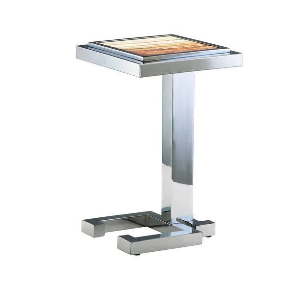 Cyan Design 4608 Tandy Accent Table - CHROME