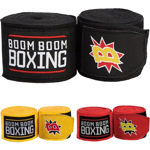 "Title Boxing Boom Boom 180"" Flex Boxing and MMA Handwraps - 2"" x 180"""