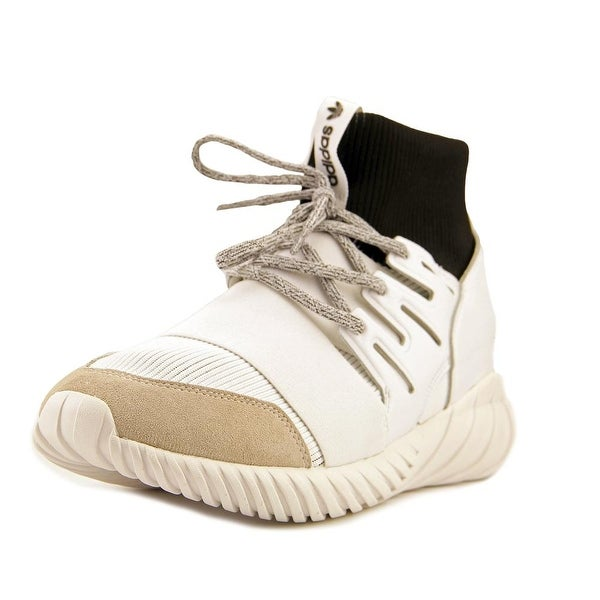 Adidas Tubular Doom Men Round Toe Synthetic White Tennis Shoe