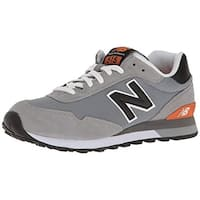 New Balance Men's Ml515 Sneaker, Grey/Black, 8.5 D Us