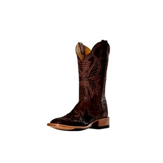 Cinch Western Boots Womens Cowboy Mad Dog Square Toe Chocolate CFW152
