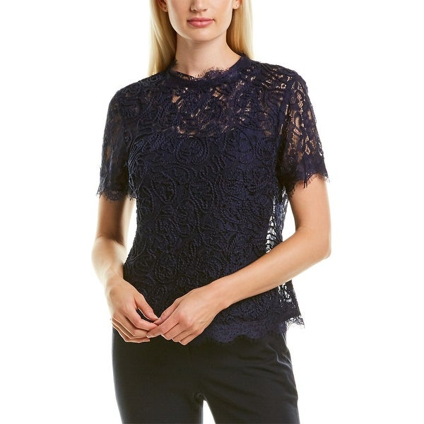Anne Klein Lace Blouse. Opens flyout.