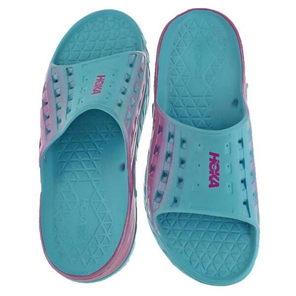 Shop Hoka One Womens Ora Recovery Slide Sandals Eva Sport Overstock 22339020