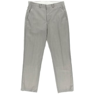 Ryan Seacrest Mens Wool Slim Fit Dress Pants