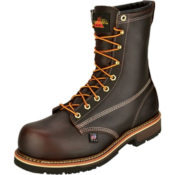 Thorogood Work Boots Mens Emperor Leather CT Black Walnut 804-4368