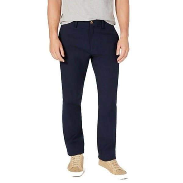 Club Room Mens Pants Navy Blue Size 40X30 Straight Leg Chino Stretch. Opens flyout.