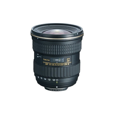 Tokina 11-16mm f/2.8 AT-X 116 PRO DX-II Lens for Nikon F - Black
