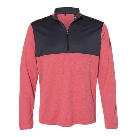 Adidas Men's Lightweight Quarter Zip Pullover, Bold Colors