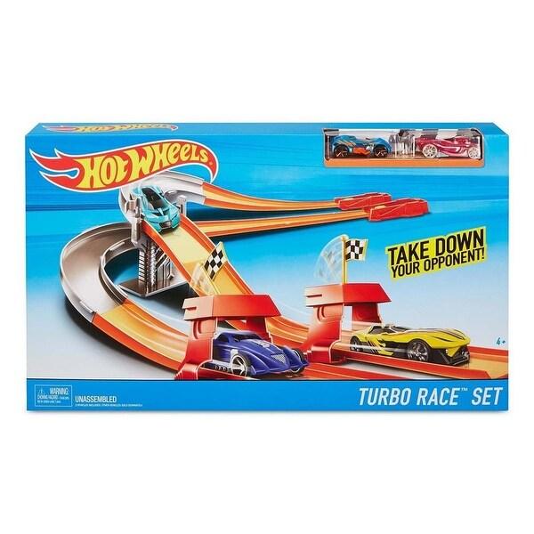 Hot Wheels Turbo Race Set