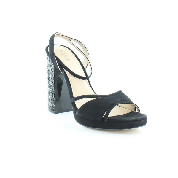 Michael Kors Yoonie Platform Women's Heels Black