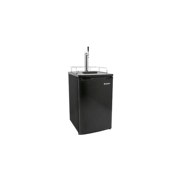 "EdgeStar KC2000 20"" Wide Kegerator and Keg Beer Cooler for Full Size Kegs - N/A"
