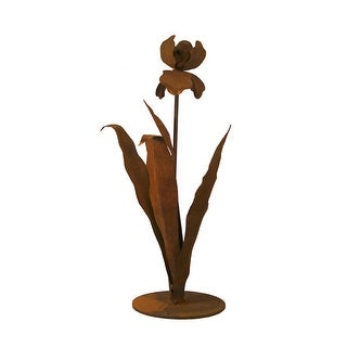 Patina Products S671 Small Iris Garden Sculpture - Cynthia