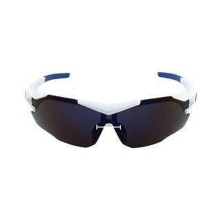 ROBESBON Authorized Unisex Polarized Sports Sunglasses Lens Cycling Glasses Blue