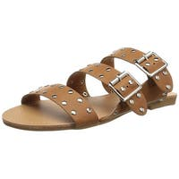 Brinley Co Women's Dafnie Slide Sandal