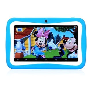 "Worryfree Wopadkids-7Q-Blu Myepads Wopad 8Gb Android 5.1.1 7"" Kids Tablet - Blue"
