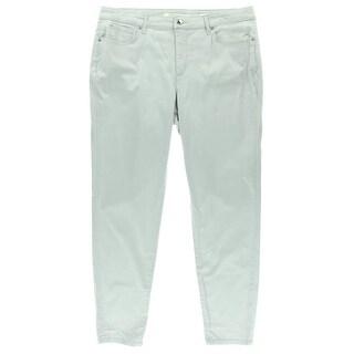 Jones New York Womens Tummy Slimming Low-Rise Skinny Jeans - 4