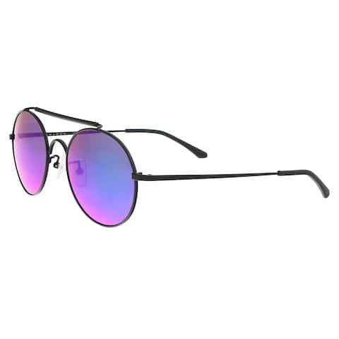 Sean John SJ859S 001 Black Round Sunglasses - 54-21-150