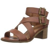 Rampage Womens Havarti Open Toe Casual Slingback Sandals