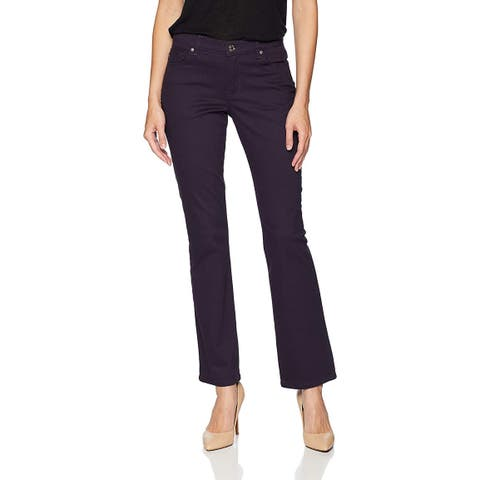 Lee Women's Relaxed Fit Straight Leg Colored Stretch Jean