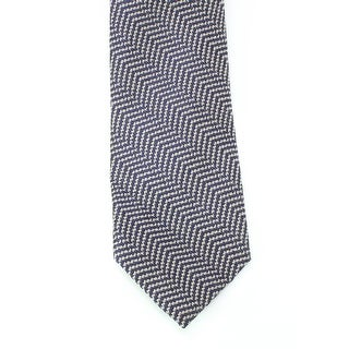 Black Brown 3536 NEW Blue Gray Woven Textured Men's Neck Tie Wool