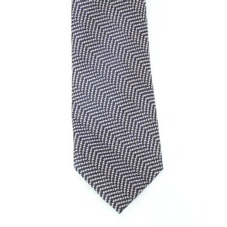 Black Brown 3636 NEW Blue Gray Woven Textured Men's Neck Tie Wool