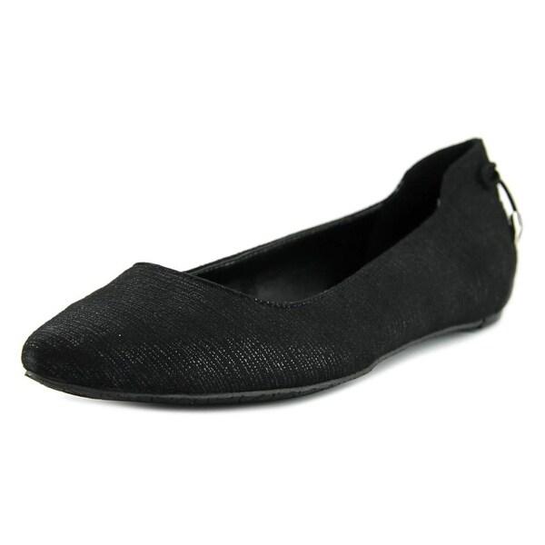 Calvin Klein Belda Pointed Toe Canvas Flats