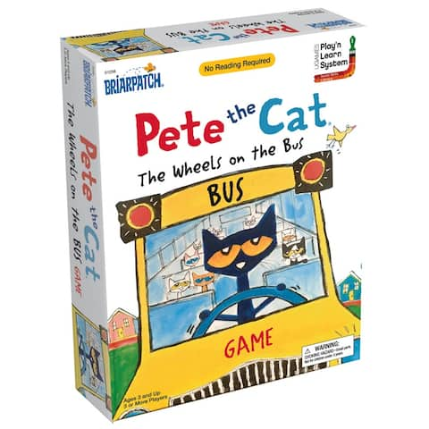 Pete the Cat® Wheels on the Bus Game