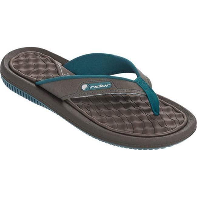 fa1be315f4b4 Shop Rider Women s Dunas XI Thong Sandal Blue Brown - On Sale - Free  Shipping On Orders Over  45 - Overstock.com - 14667497