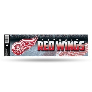 Detroit Red Wings Glitter Bumper Sticker