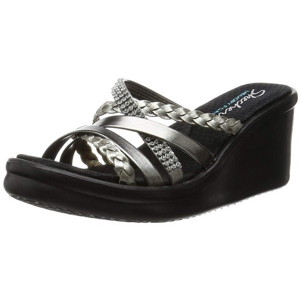 21bc23b209ff Shop Skechers Cali Women Rumblers Wild Child -Social Butterfly Wedge ...