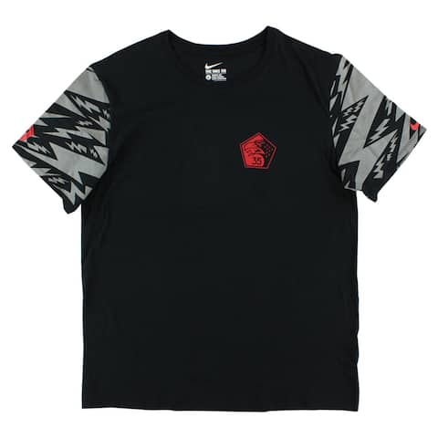 4fa6d187af471d Nike Mens Kevin Durant Flight Pack 35th Squadron T Shirt Black - black red