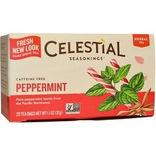 Celestial Seasonings - Peppermint Herbal Tea ( 3 - 40 BAG)