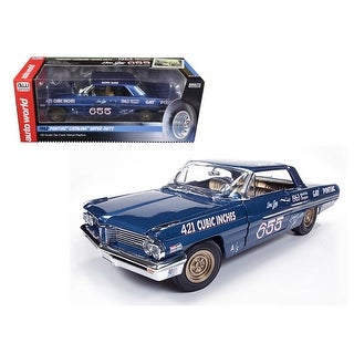 1962 Don Gay\'s Pontiac Catalina 421SC 1/18 Diecast Car Model by Autoworld