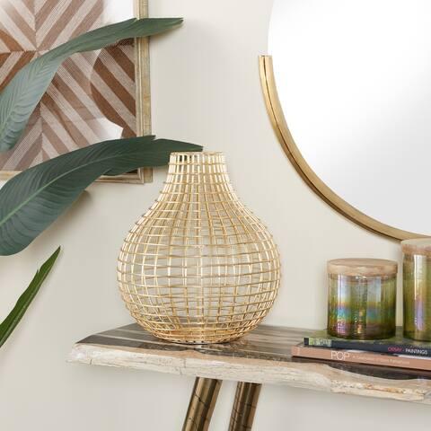 CosmoLiving by Cosmopolitan Iron Modern Vase