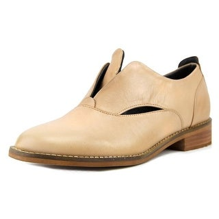 Hardy Nava Women  Round Toe Leather Nude Loafer