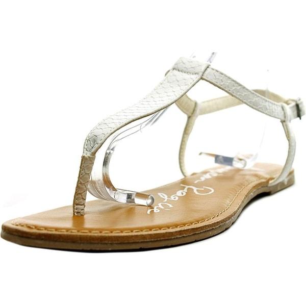 American Rag Krista Women Open Toe Synthetic White Thong Sandal