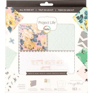 Project Life All-In-One Album Kit-Becky Higgins Bloom Edition