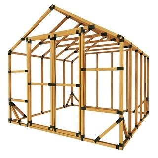 E-Z Frame 10x10 Standard Storage Shed or Greenhouse Kit - 10'x10'