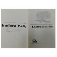 Signed Welty Eudora Losing Battles Eudora Welty Losing Battles First Edition Hardcover Book on the