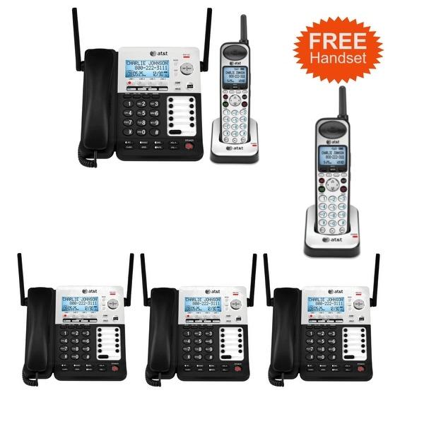 74c2d80897a Shop ATT SB67118 and 3-SB67148 4 Line Corded Cordless Phone - Free ...