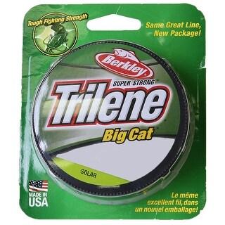 Berkley Trilene Big Cat Fishing Line (270 yds) - 20 lb Test - Solar