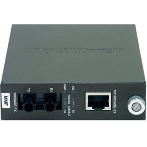 TRENDnet TFC-110MST TRENDnet TFC-110 100Base-TX to 100Base-FX Multi Mode ST Fiber Converter - 1 x RJ-45 , 1 x ST -
