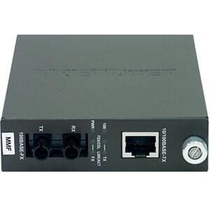 """""""TRENDnet TFC-110MST TRENDnet TFC-110 100Base-TX to 100Base-FX Multi Mode ST Fiber Converter - 1 x RJ-45 , 1 x ST -"""