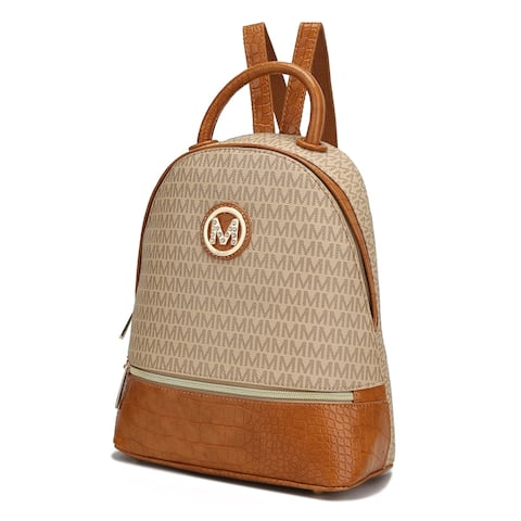 MKF Collection Denice Signature Backpack by Mia K.